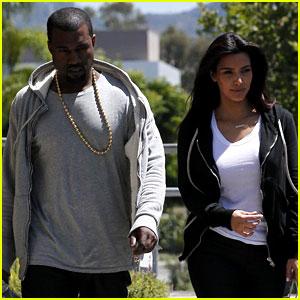 Kim Kardashian & Kanye West Shop After Penelope's Birth!