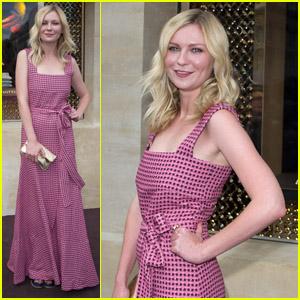 Kirsten Dunst: Louis Vuitton Boutique Opening!