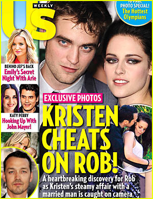 Kristen Stewart Cheats on Rob Pattinson with Rupert Sanders