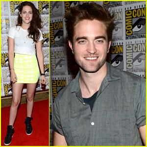 Kristen Stewart & Robert Pattinson: 'Twilight' Comic-Con Panel!