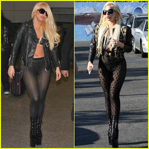 Lady Gaga: From Australia To LAX!