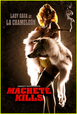 Lady Gaga Joins 'Machete Kills' - New Poster Revealed!