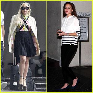 Lady Gaga & Lindsay Lohan: New Friendship?