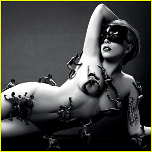Lady Gaga: Naked for 'Fame' Campaign Ad!