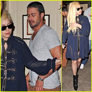 Lady Gaga & Taylor Kinney: Dinner at Joanne!