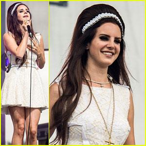 Lana Del Rey: Eurockeennes Music Festival Performance!
