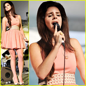 Lana Del Rey: House Festival Performer!