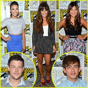 Lea Michele & 'Glee' Cast Hit Comic-Con 2012!