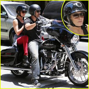 LeAnn Rimes: Harley Ride with Eddie Cibrian!