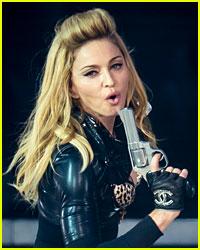 Madonna Under Criticism For Fake Gun Use During Concerts