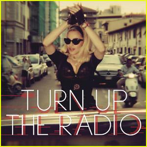 Madonna: 'Turn Up the Radio' Cover Art!