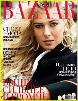 Maria Sharapova Covers 'Harper's Bazaar Russia' - Exclusive!