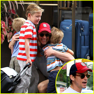 Matt Bomer: My Three Sons!