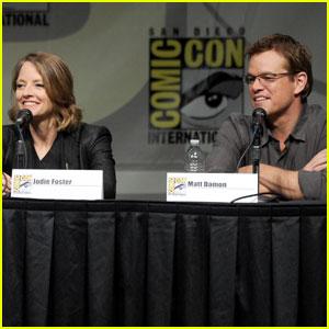 Matt Damon: 'Elysium' Panel At Comic-Con
