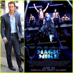 Matthew McConaughey: 'Magic Mike' Sequel Confirmed!