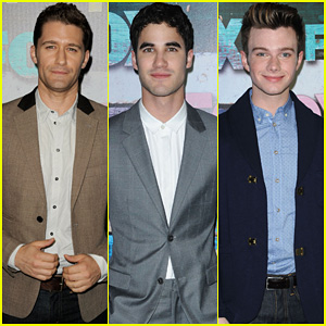 Matthew Morrison: Fox All-Star Party with Glee Guys!