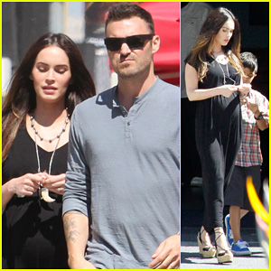 Megan Fox: Sunday Mass Baby Bump!