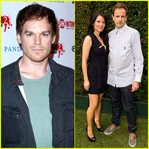 Michael C. Hall & Lucy Liu: 'Dexter' & 'Elementary' at Comic-Con!
