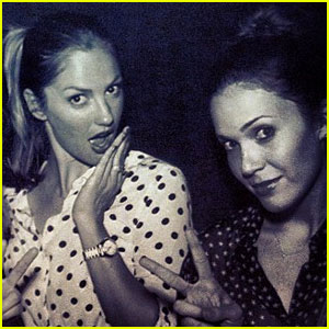 Minka Kelly Celebrates Independence Day with Mandy Moore!