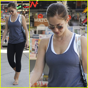 Minka Kelly: Weekend Workout Woman!