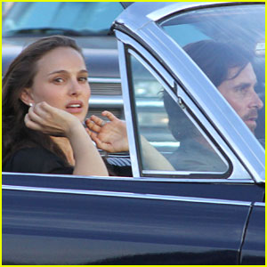 Natalie Portman &#038; Christian Bale: 'Knight of Cups' Convertible!