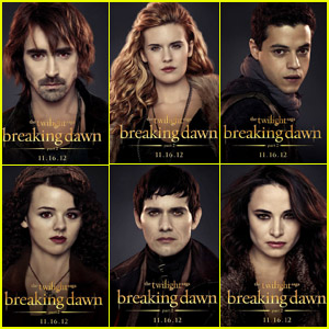 New 'Breaking Dawn' Character Posters!