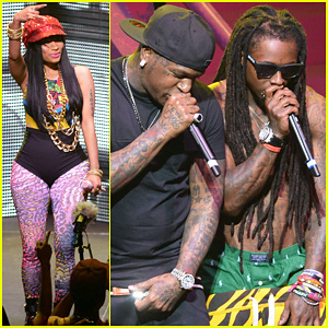 Nicki Minaj: Pink Friday Tour with Lil Wayne & Birdman!