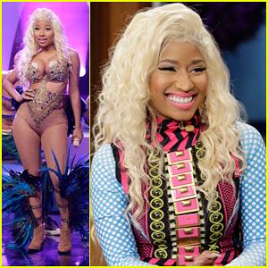 Nicki Minaj: 'Pound The Alarm' Live on 'Jay Leno'!