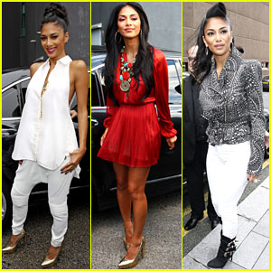 Nicole Scherzinger: 'X Factor UK' Boot Camp!