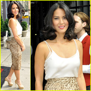 Olivia Munn: 'Jimmy Fallon' Appearance!