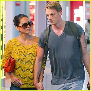 Olivia Munn & Joel Kinnaman: Holding Hands at the Airport!