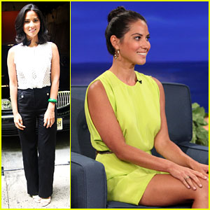 Olivia Munn Takes Over Talk Shows!