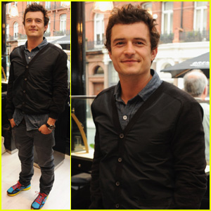 Orlando Bloom: Bremont Boutique Launch!