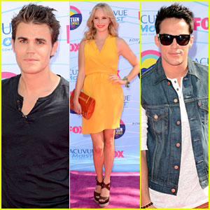 Paul Wesley & 'Vampire Diaries' Cast - Teen Choice Awards 2012
