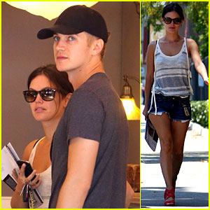 Rachel Bilson &#038; Hayden Christensen: Culver City Shopping!