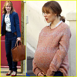 Rachel McAdams: Fake Baby Bump for 'About Time'!