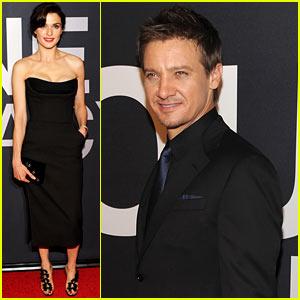 Rachel Weisz: 'Bourne Legacy' Premiere with Jeremy Renner!