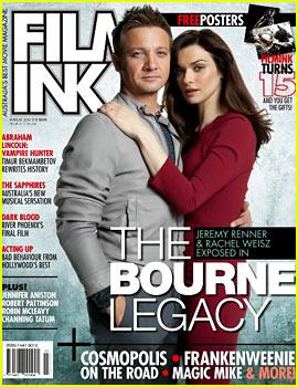 Rachel Weisz & Jeremy Renner Cover 'FilmInk' August 2012