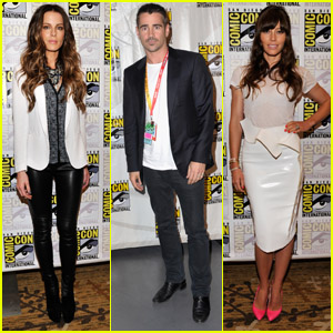 Colin Farrell & Jessica Biel: 'Total Recall' at Comic-Con!