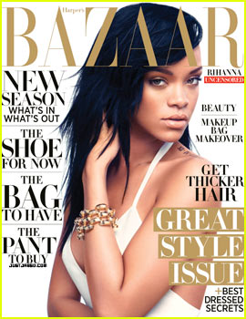 Rihanna Covers 'Harper's Bazaar' August 2012