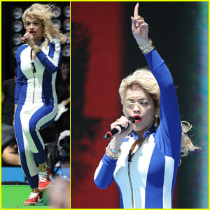 Rita Ora: T4 On The Beach Performance!