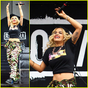 Rita Ora: Barclaycard Wireless Festival!