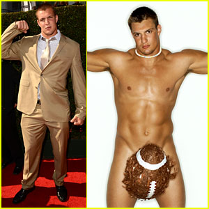 Rob Gronkowski: ESPY Awards 2012 & Body Issue Pics!