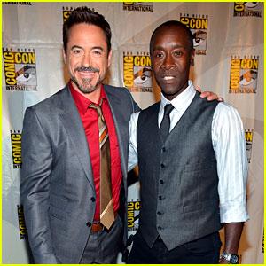 Robert Downey Jr. & Don Cheadle: Marvel Panel at Comic-Con!