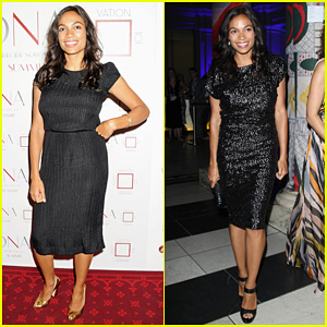Rosario Dawson: DNA Summit Power Breakfast!