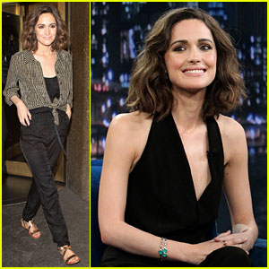 Rose Byrne: 'Late Night with Jimmy Fallon' Visit!