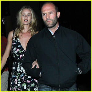 Rosie Huntington-Whiteley & Jason Statham: London Lovers!