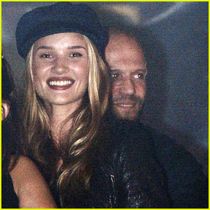 Rosie Huntington-Whiteley: Wireless Festival with Jason Statham!