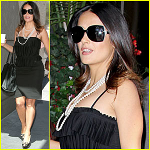 Salma Hayek: 'Savages' is 'Sexy & Feminine'!