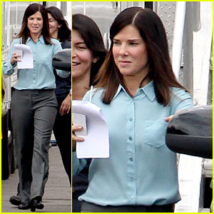 Sandra Bullock's Buddy Cop Film 'Heat' Begins Filming!